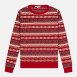Barbour Lifestyle Mallow Lighthouse Women's Sweater Red photo- 0