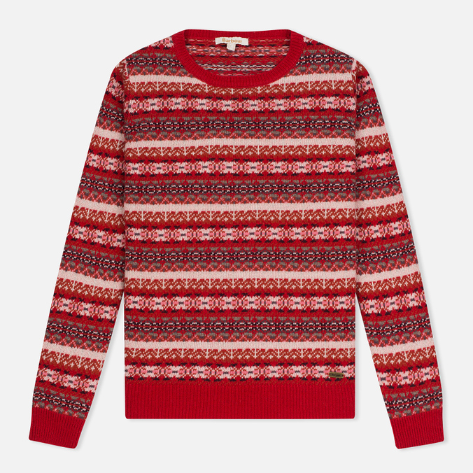 Barbour Lifestyle Mallow Lighthouse Women's Sweater Red