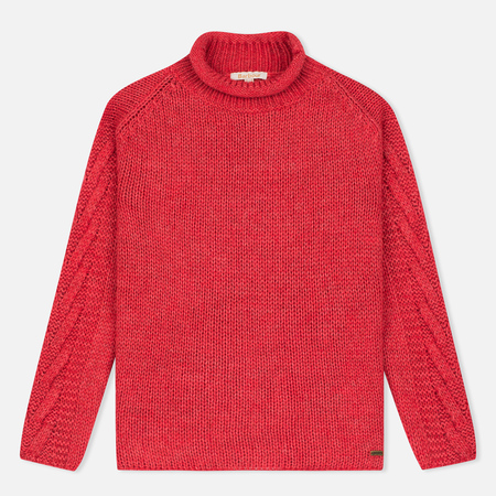 Barbour Melilot Women's Sweater Rich Coral