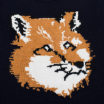 Женский свитер Maison Kitsune Fox Head Navy фото- 2