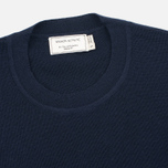 Женский свитер Maison Kitsune Merinos Fancy R-Neck Navy фото- 1