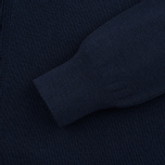 Женский свитер Maison Kitsune Merinos Fancy R-Neck Navy фото- 3