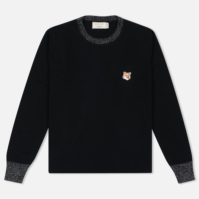 Женский свитер Maison Kitsune Merinos R-Neck Black