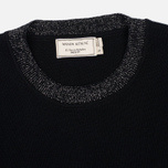 Женский свитер Maison Kitsune Merinos R-Neck Black фото- 1