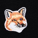 Женский свитер Maison Kitsune Merinos R-Neck Black фото- 2