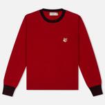 Женский свитер Maison Kitsune Merinos R-Neck Red фото- 0