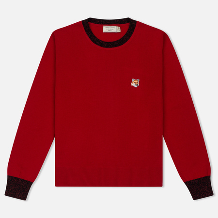 Женский свитер Maison Kitsune Merinos R-Neck Red