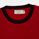 Женский свитер Maison Kitsune Merinos R-Neck Red фото- 1