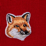 Женский свитер Maison Kitsune Merinos R-Neck Red фото- 2