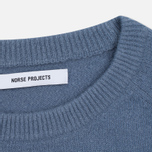 Женский свитер Norse Projects Ajo Felt Pale Blue Melange фото- 3