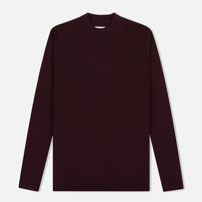 Женский свитер Norse Projects Embla High Thin Wool Plum
