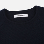 Женский свитер Norse Projects Eydis Spongy Stripe Dark Navy фото- 1