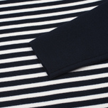Женский свитер Norse Projects Eydis Spongy Stripe Dark Navy фото- 2