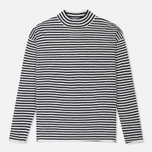 Женский свитер Norse Projects Siv Dry Wool Stripe Dark Navy фото- 0
