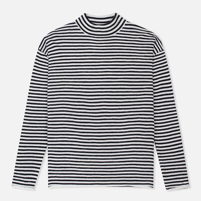 Женский свитер Norse Projects Siv Dry Wool Stripe Dark Navy