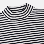 Женский свитер Norse Projects Siv Dry Wool Stripe Dark Navy фото- 1