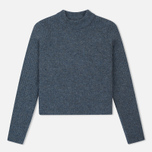 Norse Projects Sol Stitch Faded Denim Women's Sweater Melange photo- 0