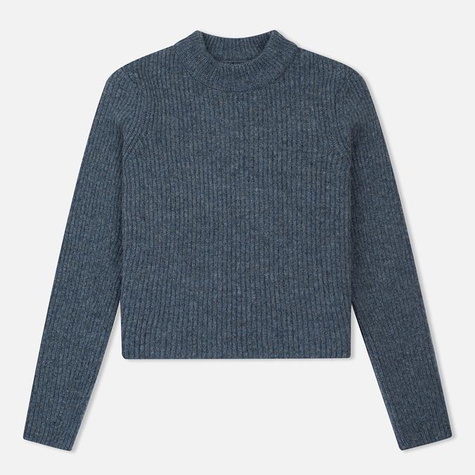 Norse Projects Sol Stitch Faded Denim Women's Sweater Melange