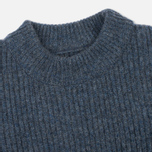 Norse Projects Sol Stitch Faded Denim Women's Sweater Melange photo- 1
