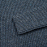 Norse Projects Sol Stitch Faded Denim Women's Sweater Melange photo- 2