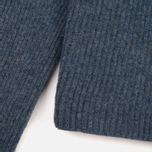 Norse Projects Sol Stitch Faded Denim Women's Sweater Melange photo- 3