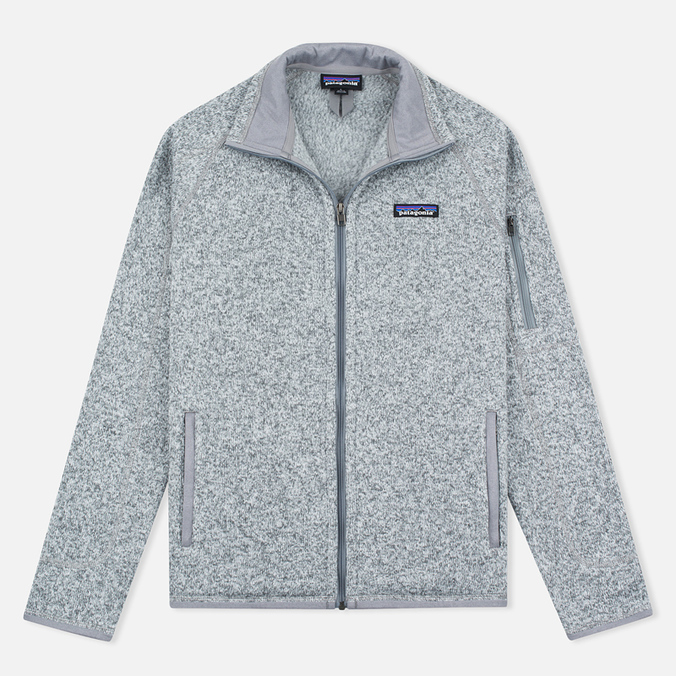 Женский свитер Patagonia Better Fleece Zip Birch White