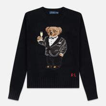 Женский свитер Polo Ralph Lauren Suit Bear Wool Black фото- 0