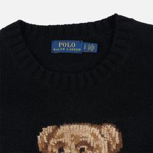 Женский свитер Polo Ralph Lauren Suit Bear Wool Black фото- 1