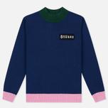 Женский свитер Stussy Diary Navy фото- 0