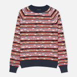 Женский свитер YMC Broken Stripe Crew Neck Multicolour фото- 0