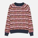 YMC Broken Stripe Crew Neck Women's Sweater Multicolour photo- 0