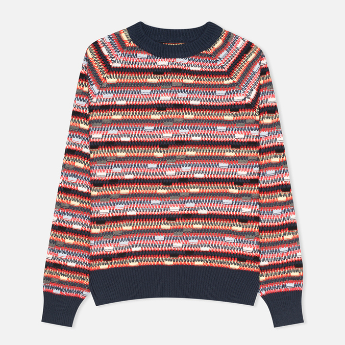 Женский свитер YMC Broken Stripe Crew Neck Multicolour
