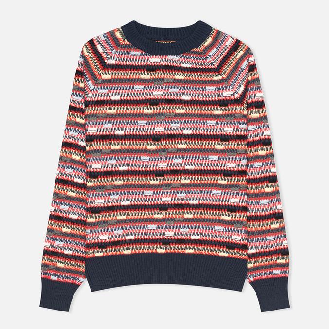 YMC Broken Stripe Crew Neck Women's Sweater Multicolour