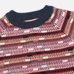 YMC Broken Stripe Crew Neck Women's Sweater Multicolour photo- 1