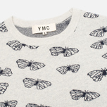 Женский свитер YMC Butterfly Crew Neck Dark Grey/Navy фото- 1