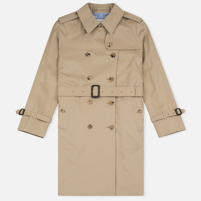 Mackintosh LM-003F Fully Lined Women's Trench Coat Honey