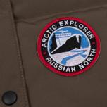 Женский жилет Arctic Explorer Stripe Logo Cacao фото- 3
