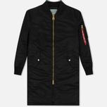 Женское пальто Alpha Industries MA-1 Coat PM Black фото- 0