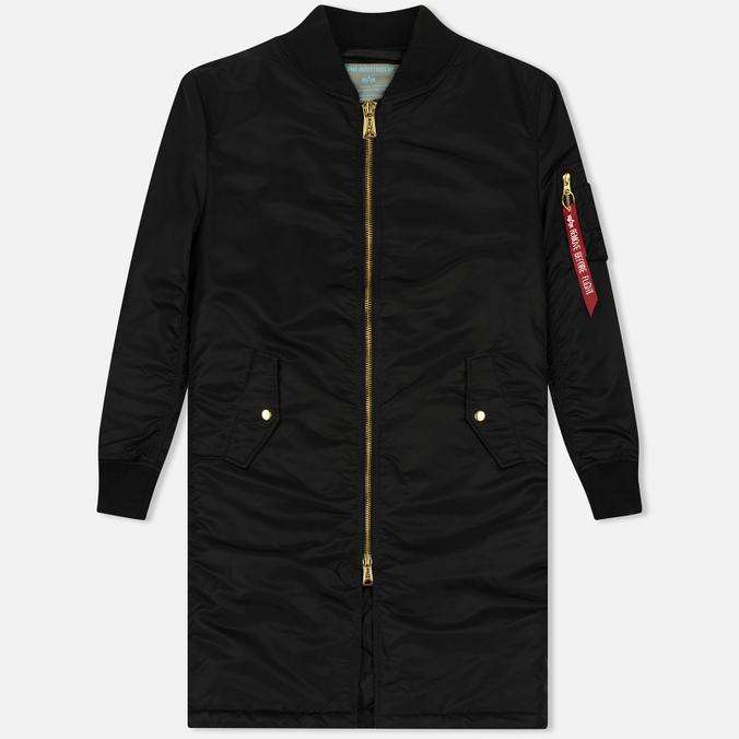 Женское пальто Alpha Industries MA-1 Coat PM Black