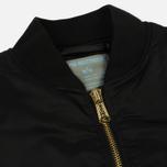 Женское пальто Alpha Industries MA-1 Coat PM Black фото- 1