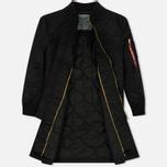 Женское пальто Alpha Industries MA-1 Coat PM Black фото- 2