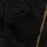 Женское пальто Alpha Industries MA-1 Coat PM Black фото- 5