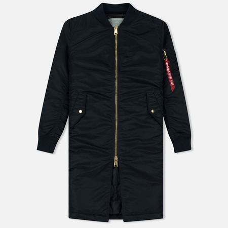 Женское пальто Alpha Industries MA-1 Coat PM Replica Blue