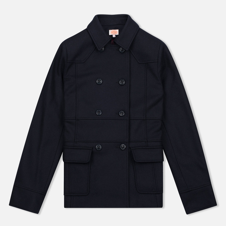 Armor-Lux Heritage Peacoat Rich Women's Coat Navy