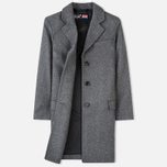 Gloverall Chesterfield Lined Women's Coat Grey Marl photo- 1