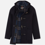 Gloverall Fitted Panel Women's Coat Navy photo- 1