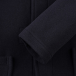 Gloverall Fitted Panel Women's Coat Navy photo- 4