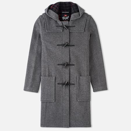 Женское пальто Gloverall Long Panelled Grey