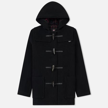 Женское пальто Gloverall Short Slim Fit Duffle Black