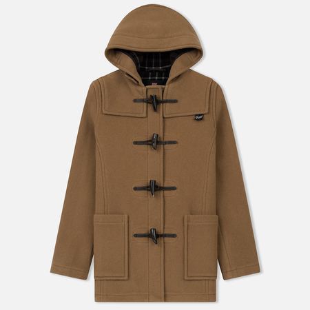 Женское пальто Gloverall Short Slim Fit Duffle Camel
